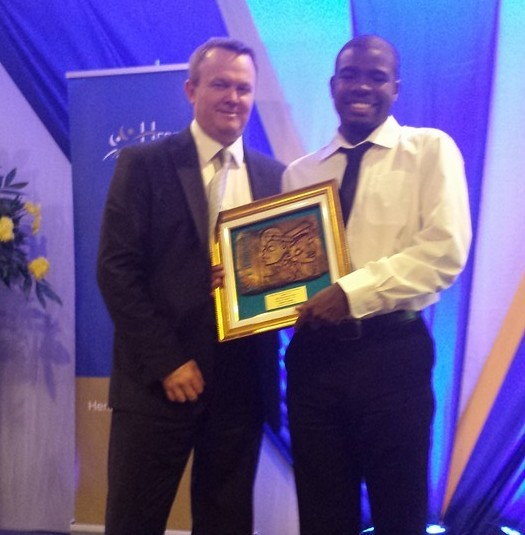 "Martin receives Heritage's ""Outstanding Beneficiary"" Award"